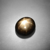 thumb image of 9.8ct Oval Cabochon Black Star Sapphire (ID: 385858)