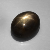 thumb image of 9.4ct Oval Cabochon Black Star Sapphire (ID: 386276)
