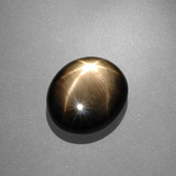thumb image of 10.1ct Oval Cabochon Black Star Sapphire (ID: 388400)