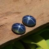 thumb image of 3.1ct Oval Cabochon Blue Star Sapphire (ID: 467716)