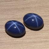 thumb image of 3.1ct Oval Cabochon Blue Star Sapphire (ID: 469290)