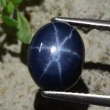 thumb image of 4.8ct Oval Cabochon Blue Star Sapphire (ID: 471880)