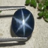 thumb image of 2.5ct Oval Cabochon Blue Star Sapphire (ID: 478736)