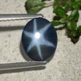thumb image of 1.3ct Oval Cabochon Blue Star Sapphire (ID: 478741)