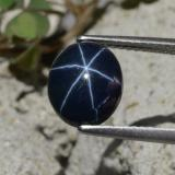 thumb image of 3.8ct Oval Cabochon Blue Star Sapphire (ID: 478805)
