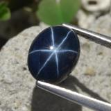 thumb image of 3.2ct Oval Cabochon Blue Star Sapphire (ID: 478812)