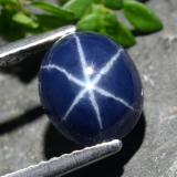 thumb image of 3.6ct Oval Cabochon Blue Star Sapphire (ID: 478875)