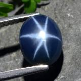 thumb image of 3.2ct Oval Cabochon Blue Star Sapphire (ID: 478882)
