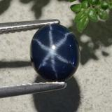 thumb image of 2.6ct Oval Cabochon Blue Star Sapphire (ID: 478886)