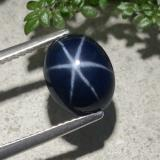 thumb image of 4ct Oval Cabochon Blue Star Sapphire (ID: 478889)