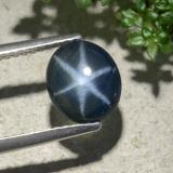 thumb image of 2.1ct Oval Cabochon Blue Star Sapphire (ID: 478891)