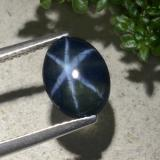 thumb image of 2.2ct Oval Cabochon Blue Star Sapphire (ID: 478893)
