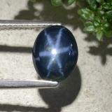thumb image of 2.1ct Oval Cabochon Blue Star Sapphire (ID: 478894)