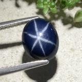 thumb image of 3.8ct Oval Cabochon Blue Star Sapphire (ID: 478896)