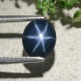 thumb image of 2.5ct Oval Cabochon Blue Star Sapphire (ID: 478897)