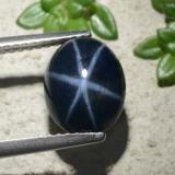 thumb image of 3.6ct Oval Cabochon Blue Star Sapphire (ID: 480378)