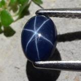 thumb image of 0.8ct Oval Cabochon Blue Star Sapphire (ID: 483638)