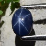 thumb image of 1ct Oval Cabochon Blue Star Sapphire (ID: 483640)
