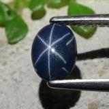 thumb image of 0.8ct Oval Cabochon Blue Star Sapphire (ID: 483646)