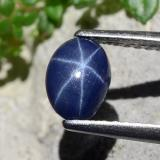 thumb image of 0.9ct Oval Cabochon Blue Star Sapphire (ID: 483650)
