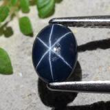 thumb image of 1ct Oval Cabochon Blue Star Sapphire (ID: 483655)