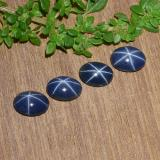 thumb image of 3.4ct Oval Cabochon Blue Star Sapphire (ID: 483723)