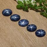 thumb image of 3.7ct Oval Cabochon Blue Star Sapphire (ID: 483752)
