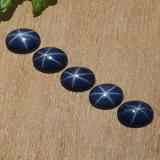 thumb image of 4.3ct Oval Cabochon Blue Star Sapphire (ID: 483753)