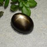 thumb image of 1.8ct Oval Cabochon Black Star Sapphire (ID: 486767)