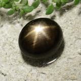 thumb image of 3.3ct Oval Cabochon Black Star Sapphire (ID: 488638)