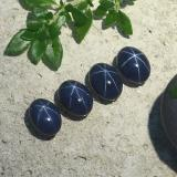 thumb image of 1.4ct Oval Cabochon Blue Star Sapphire (ID: 490208)