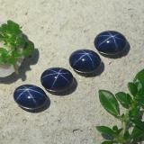 1.57 ct Oval Cabochon Blue Star Sapphire Gem 7.03 mm x 5.2 mm (Photo B)