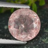 thumb image of 1.6ct Round Facet Red Strawberry Quartz (ID: 474793)