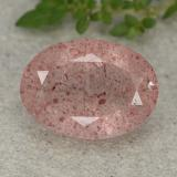 thumb image of 4.9ct 椭圆形切面 红色 草莓石英 (ID: 490453)