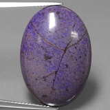 thumb image of 21.8ct Oval Cabochon Violet Sugilite (ID: 441131)