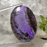 thumb image of 23.9ct Oval Cabochon Multicolor Sugilite (ID: 471106)