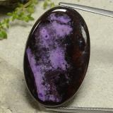 thumb image of 41.6ct Oval Cabochon Multicolor Sugilite (ID: 482513)
