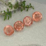 thumb image of 10.5ct Round Facet Orange Sunstone (ID: 480902)