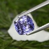 thumb image of 1.5ct Cushion-Cut Violet Blue Tanzanite (ID: 154621)