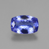 thumb image of 1.4ct Cushion-Cut Violet Blue Tanzanite (ID: 280568)