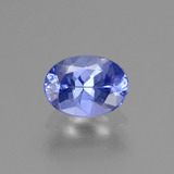 thumb image of 1.1ct Oval Facet Violet Blue Tanzanite (ID: 285380)