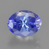 thumb image of 1.7ct Oval Facet Violet Blue Tanzanite (ID: 291325)