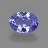 thumb image of 1.1ct Oval Facet Violet Blue Tanzanite (ID: 295059)
