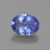 thumb image of 1.2ct Oval Facet Violet Blue Tanzanite (ID: 295070)