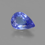 thumb image of 0.9ct Pear Facet Bluish Violet Tanzanite (ID: 295949)