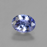 thumb image of 1.2ct Oval Facet Medium Navy Blue Tanzanite (ID: 342197)