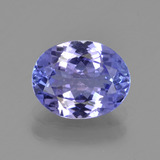 thumb image of 1.9ct Oval Facet Violet Blue Tanzanite (ID: 345735)