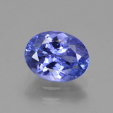 thumb image of 1.6ct Oval Facet Violet Blue Tanzanite (ID: 347034)