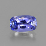 thumb image of 1.2ct Cushion-Cut Violet Blue Tanzanite (ID: 347495)