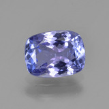 thumb image of 1.5ct Cushion-Cut Violet Blue Tanzanite (ID: 347499)